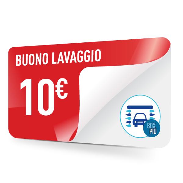 buono lavaggio 10 euro