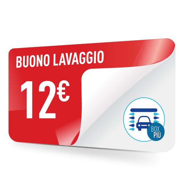 Buono lavaggio TotalErg da 12 Euro