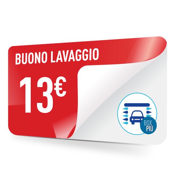 Buono lavaggio TotalErg 13 euro