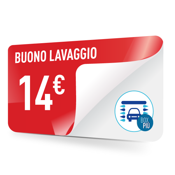 Buono lavaggio TotalErg 14 euro
