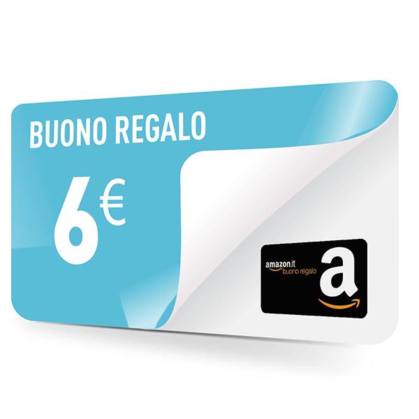 Buono spesa Amazon 6 euro