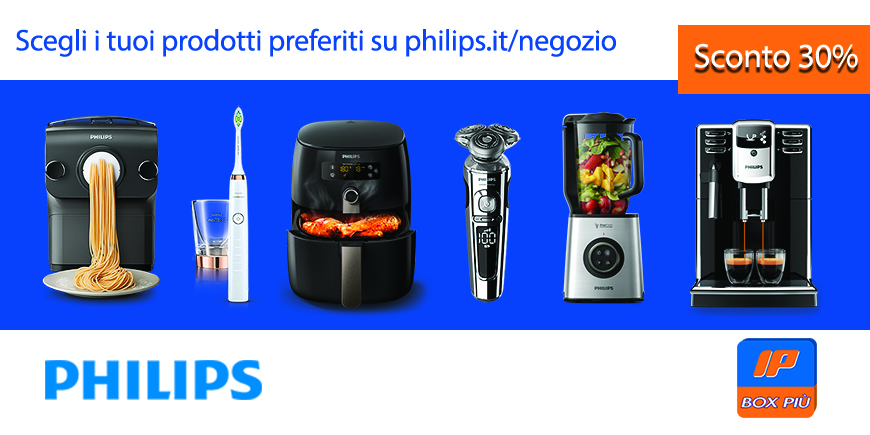 Vantaggi IP Box Più e Philips